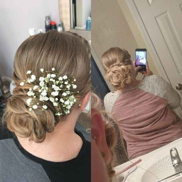 If you're considering hair extensions for the wedding...