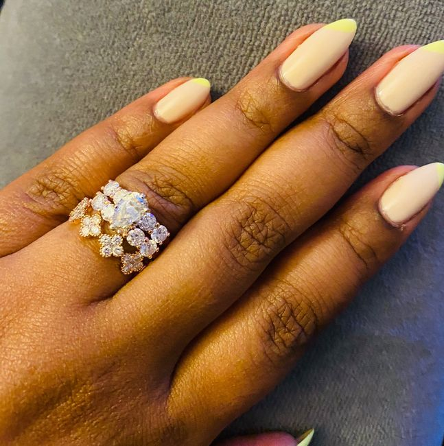 Show me your wedding ring set 2
