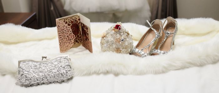 Show me your wedding day purse! 5