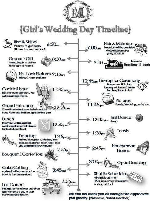 Morning Ceremony Lunch Reception Weddings Etiquette And