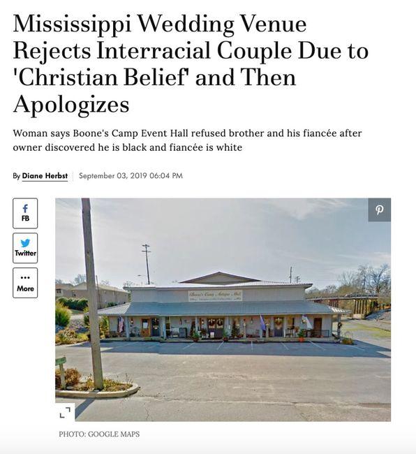Wedding Venue Discrimination 1
