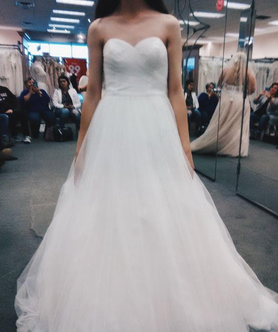 My dress reject