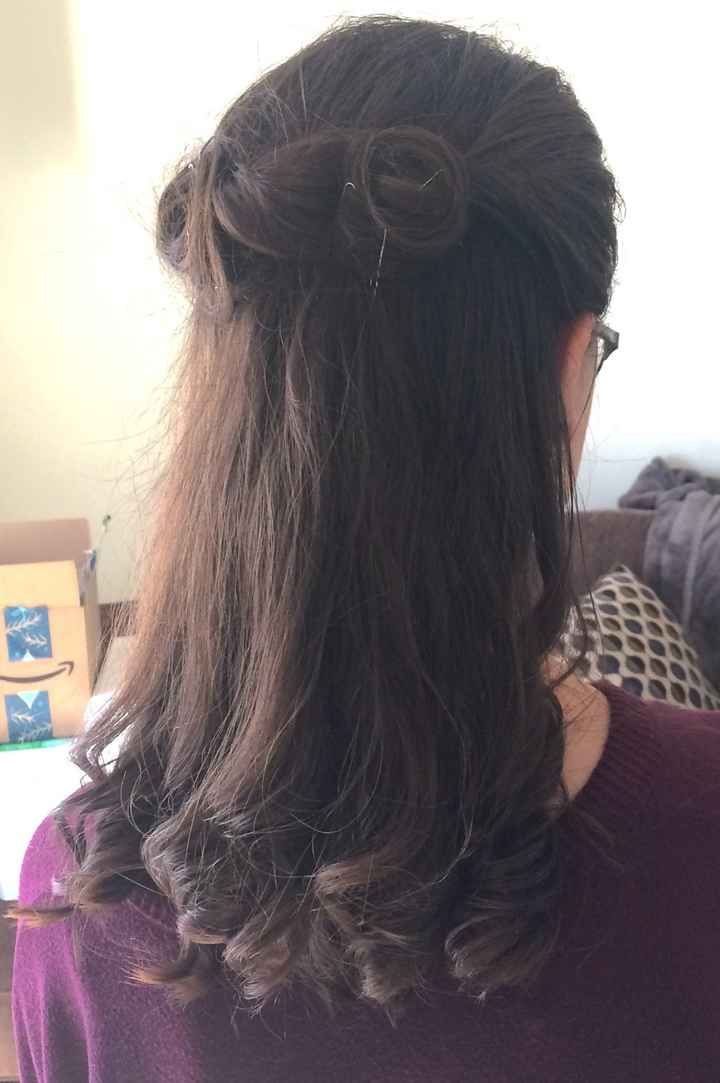 From my hair trial