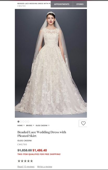 Thoughts and Opinions on David's Bridal vs Boutiques 1