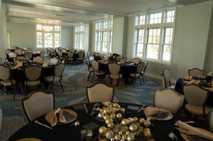 Ballroom set up -day