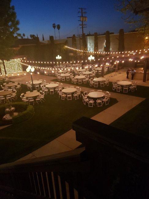 Outside wedding - 1