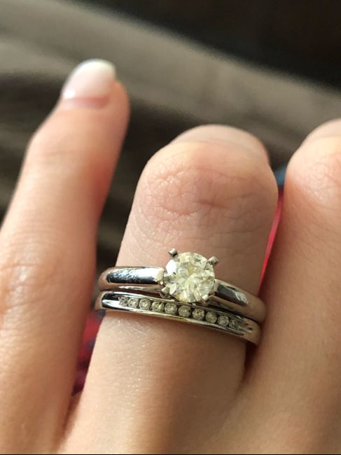 Diamond engagement ring didn't come with papers? - 1