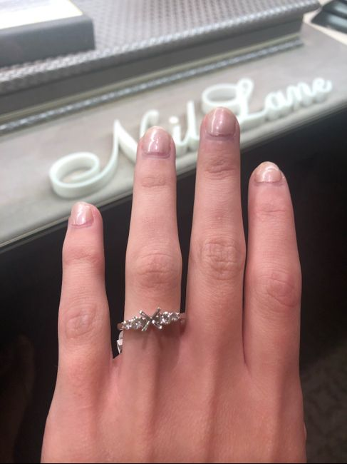 Adding side stones to engagement ring 2