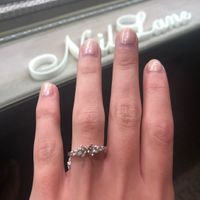Adding side stones to engagement ring - 2
