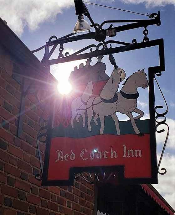 Red Coach Inn- we had a gorgeous winter day