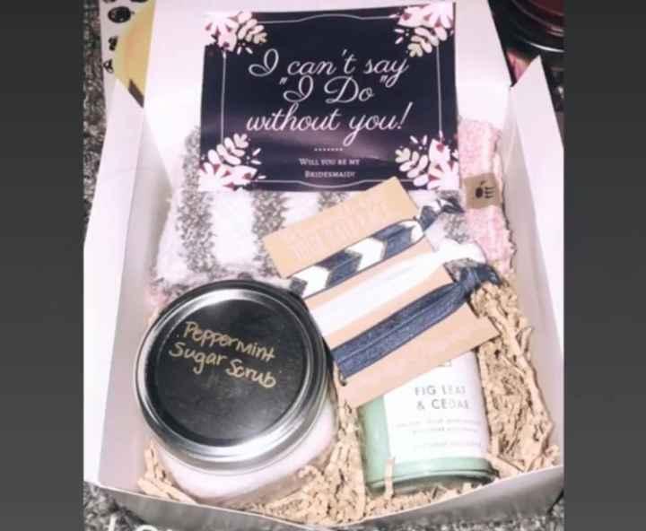 Show me your Bridesmaid Proposal Boxes! - 1