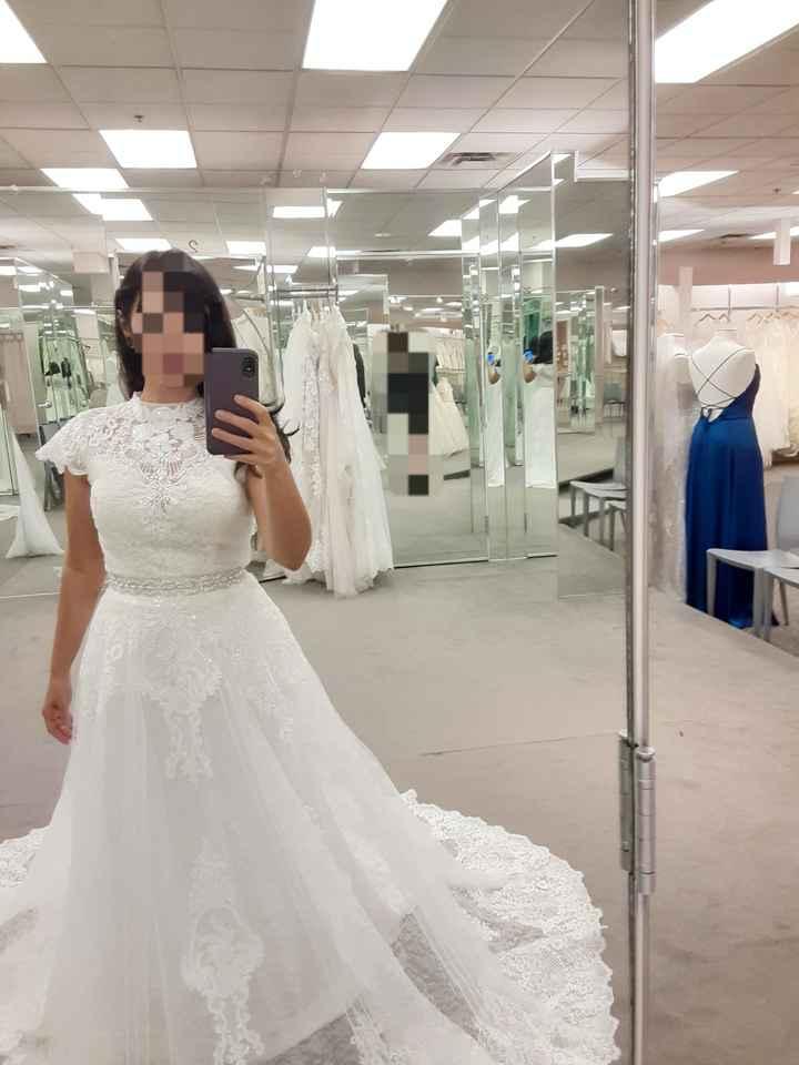 Wedding Dress Jitters - 1