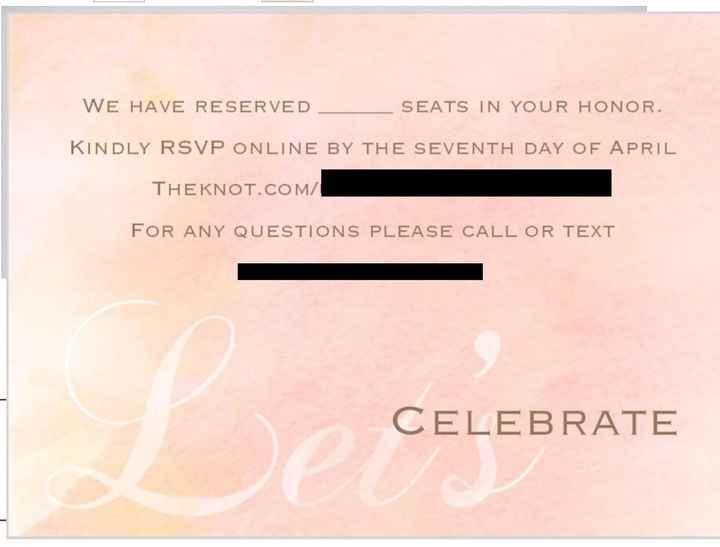 Do my invitations look okay? - 2