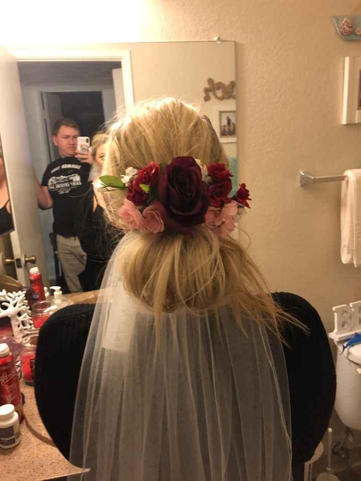 Floral Comb diy 1