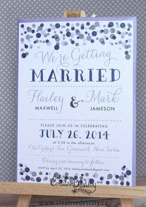 Your Invitations (Inspiration & Final Results)