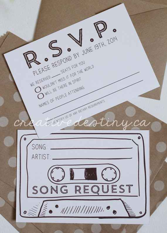 Show me your RSVP Cards