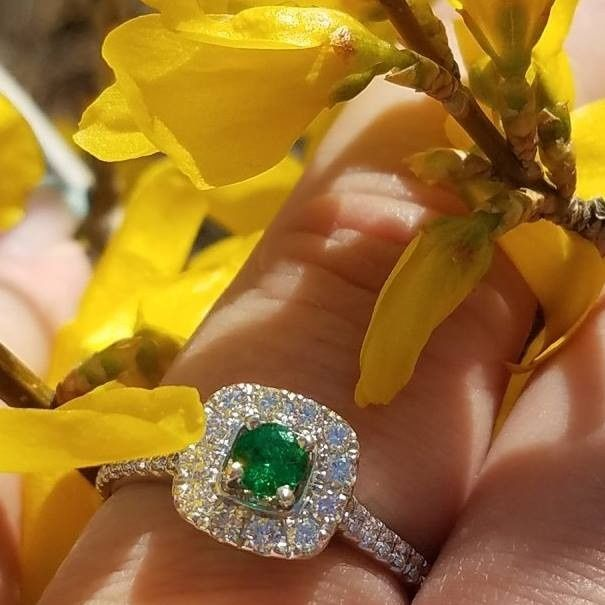 Who else has gemstones in their ring(s)?  Let's see them! 16