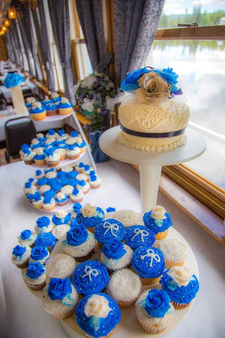 Show off your wedding cake!!