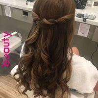 Down w/ curl (find on pinterest)