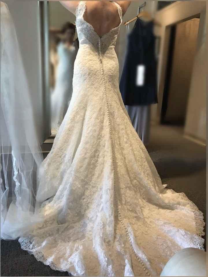 Wedding dress help!