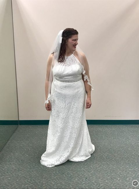 Almost wedding day.. Worried about dress again 7