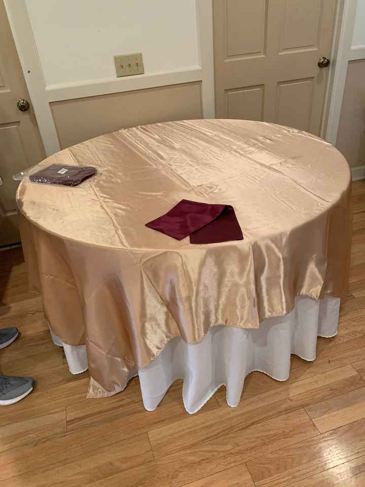 Table linen? - 1