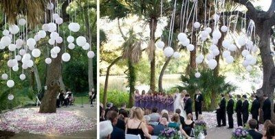 Getting married in a back yard with a tent?