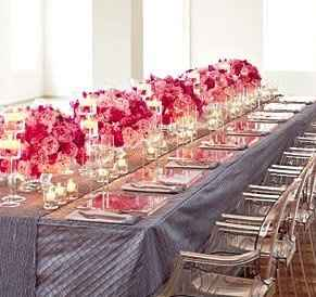 Reception Hall is BOOKED!..now round tables?Or rectangle?