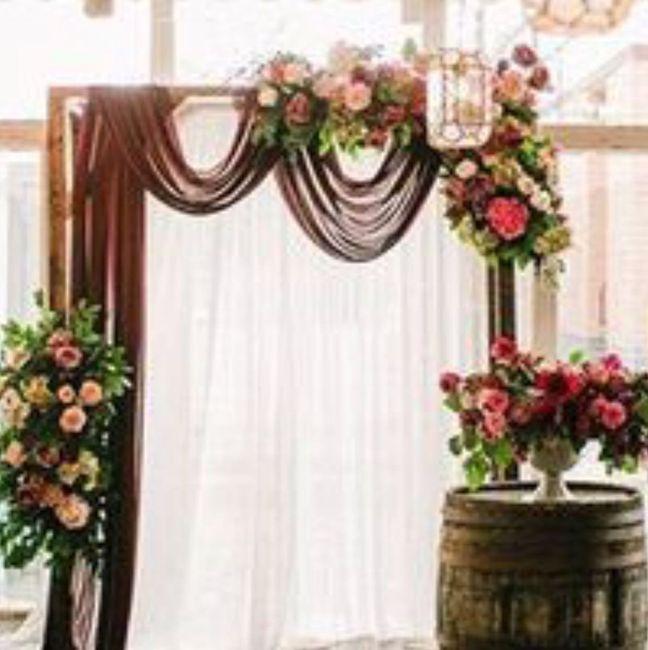 Non Floral Decor Ideas For Pergola Weddings Style And Dcor