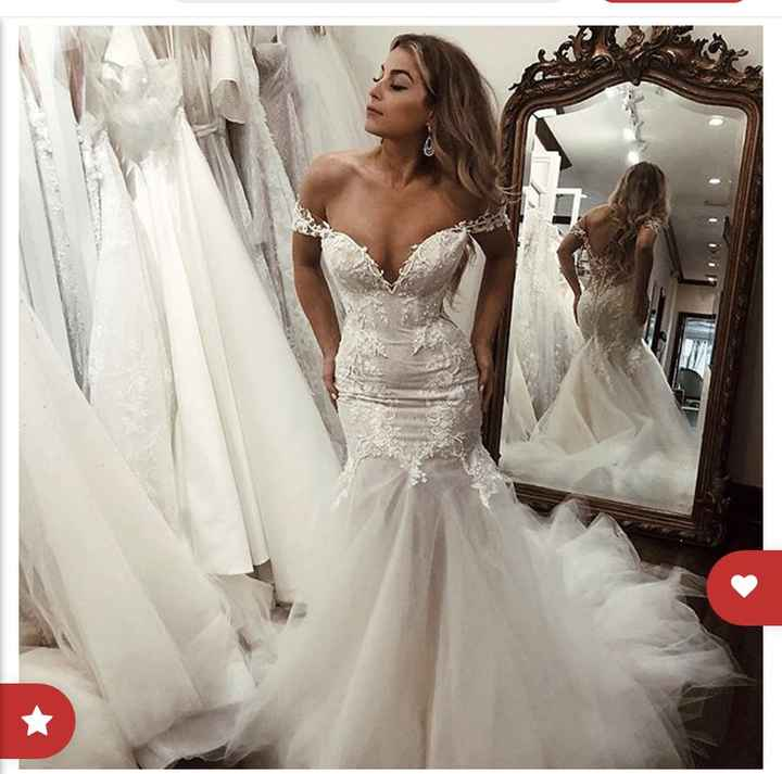Dress help! Mermaid with tulle - 1