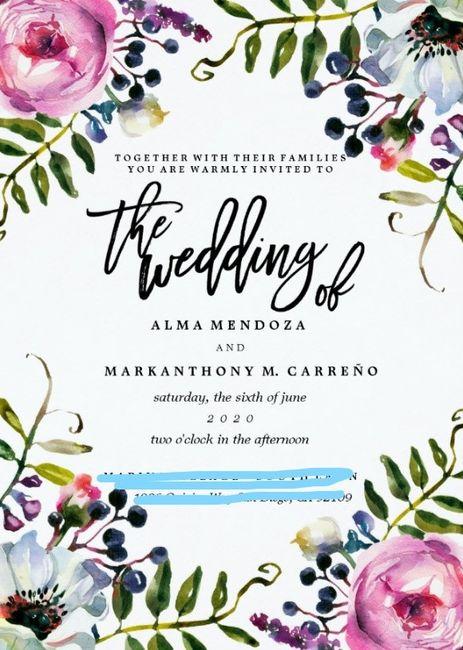 Wedding Invitations on a Budget 5