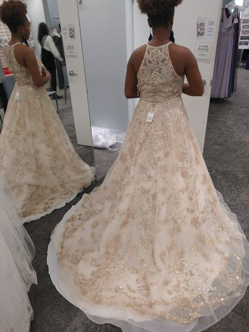 Gold wedding 3