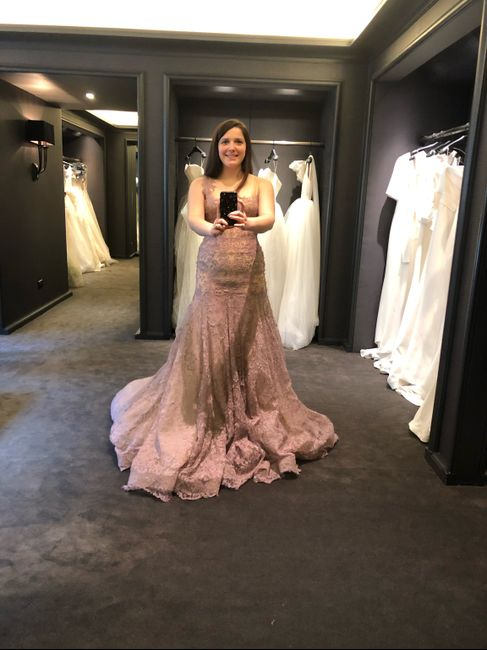 Different Colour Wedding Gown? 1