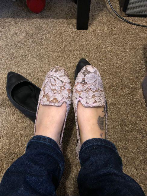 Wedding Dress/shoe Nightmare! 2