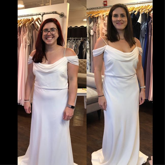 What does your bridesmaids dresses look like? 13