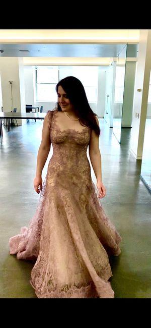 Petite brides Show your dresses! 3
