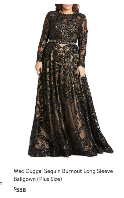 Black Wedding Dress 2