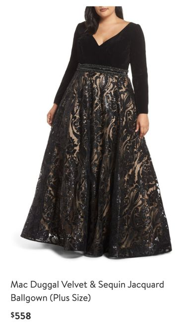 Black Wedding Dress 3