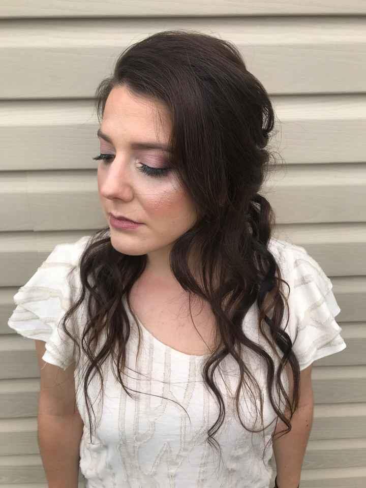 Show me your wedding makeup! - 1