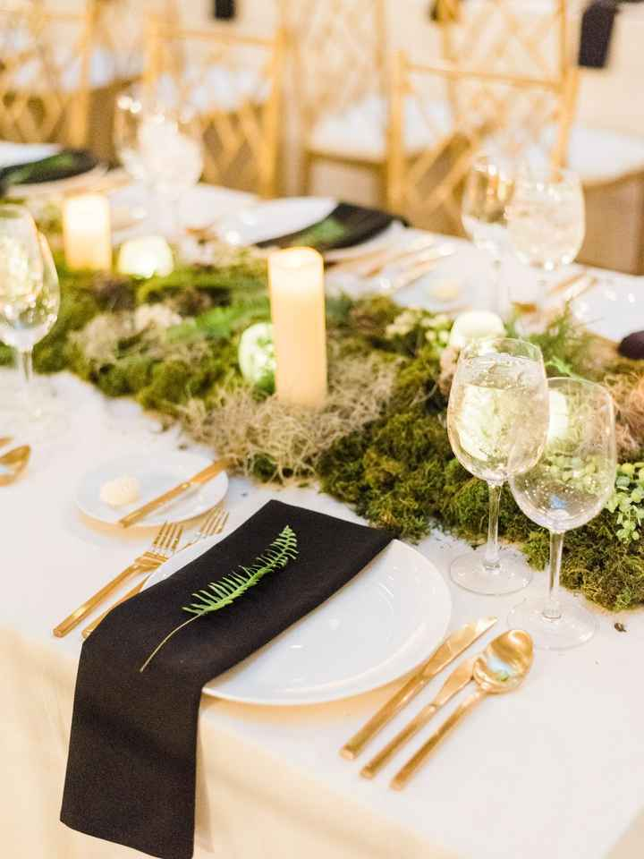 Moss on tables ... how much should i order? - 1