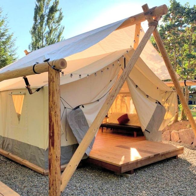Secluded Glamping Honeymoon Booked 1