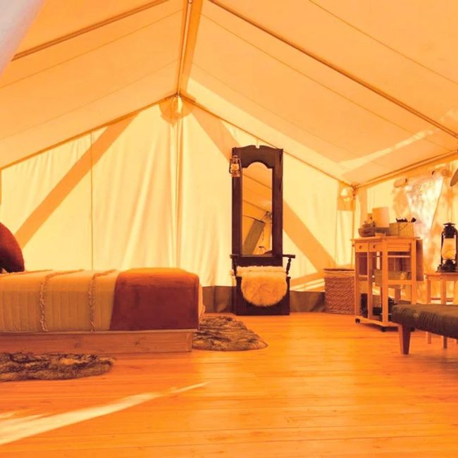 Secluded Glamping Honeymoon Booked 5