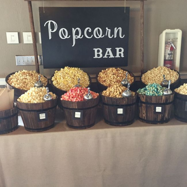 Really wanting a popcorn bar - 1