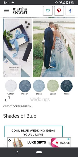 Wedding color theme 7