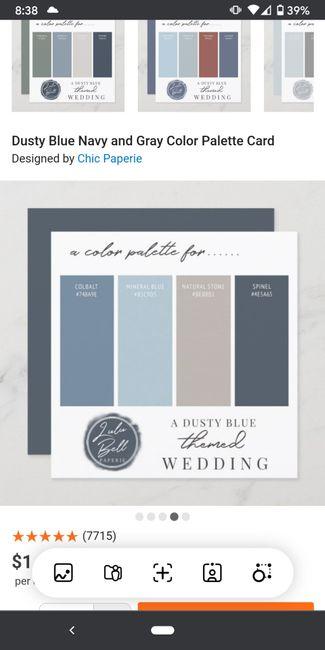 Wedding color theme 9
