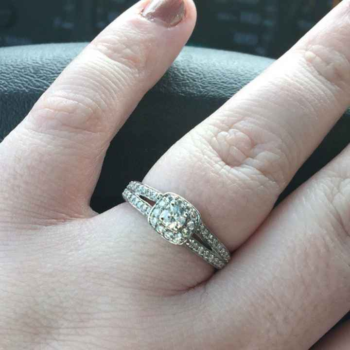 Let me see your wedding rings!