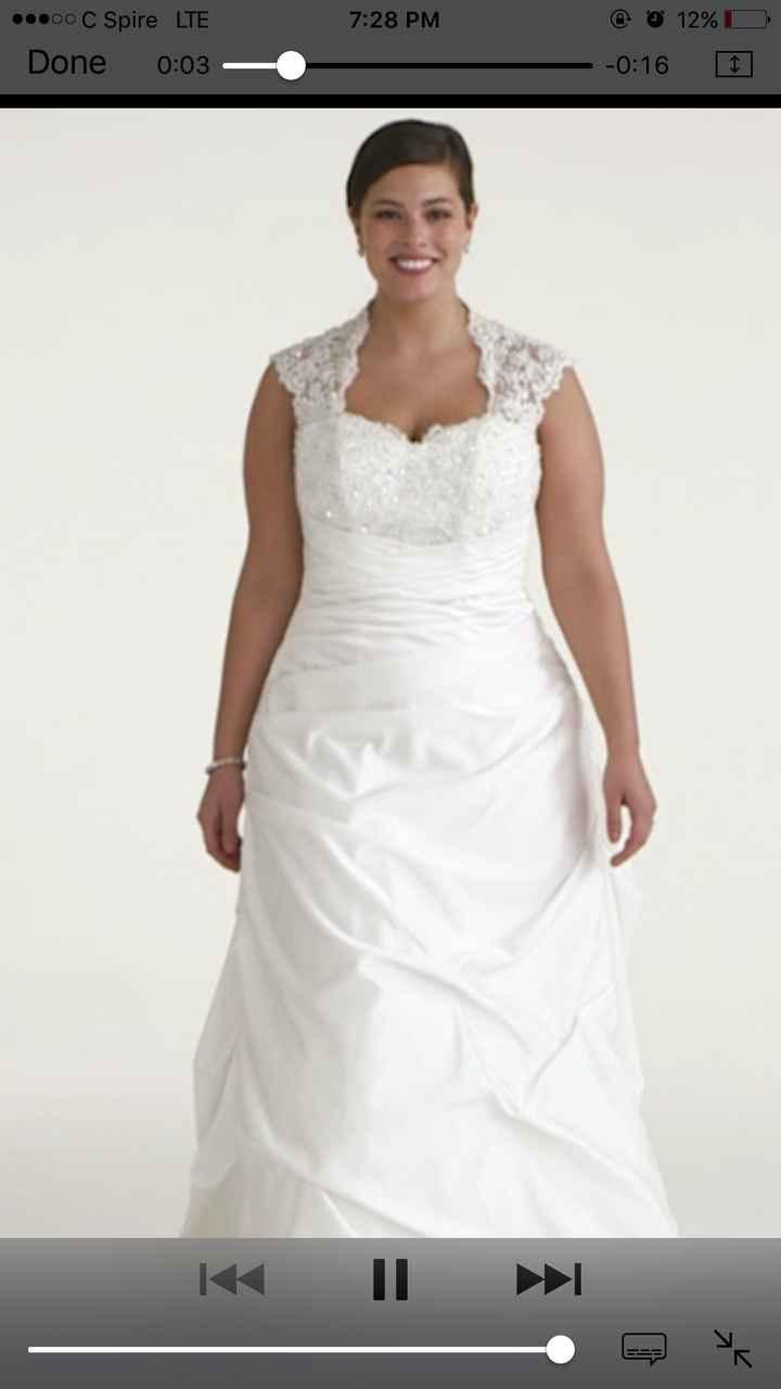 Davids bridal wedding dresses....