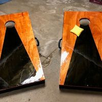 Worst project for the wedding - Corn hole boards