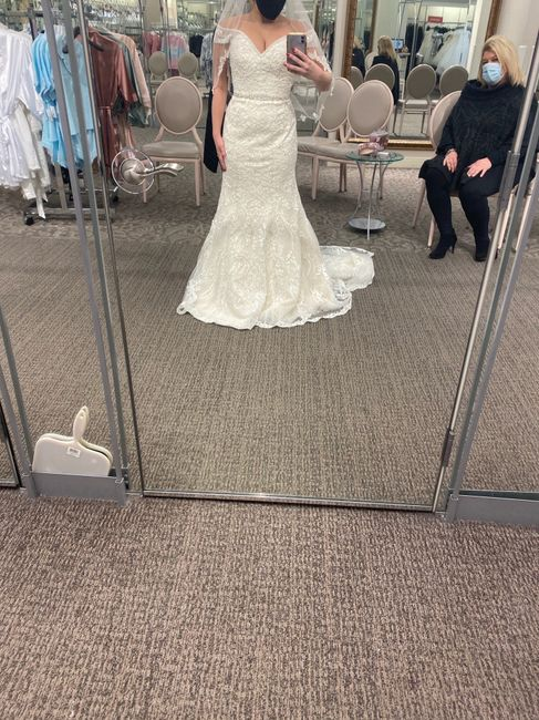David's Bridal - is it good? i tried dresses on not expecting to find anything, and was surprised by what i found 2
