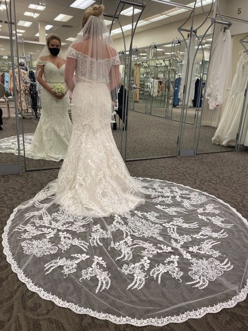 David's Bridal - is it good? i tried dresses on not expecting to find anything, and was surprised by what i found 3